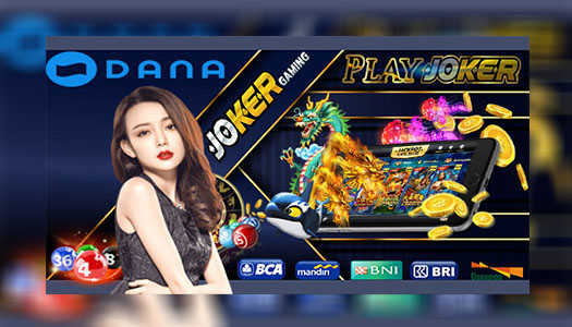Agen Joker Gaming Deposit Slot 25rb Via Dana